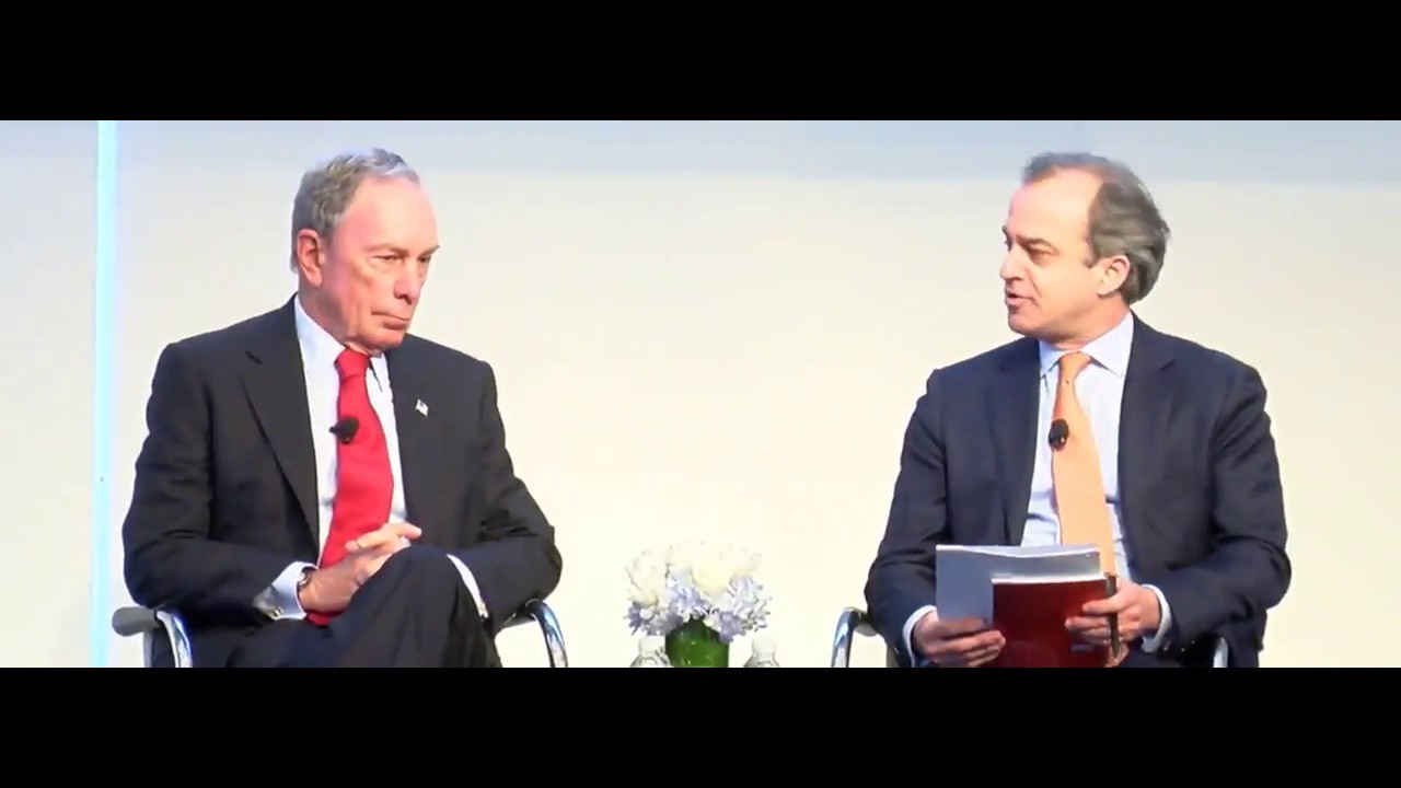 Lunch and Fireside Chat with Michael R. Bloomberg at the CEO Investor Forum, February 2018
