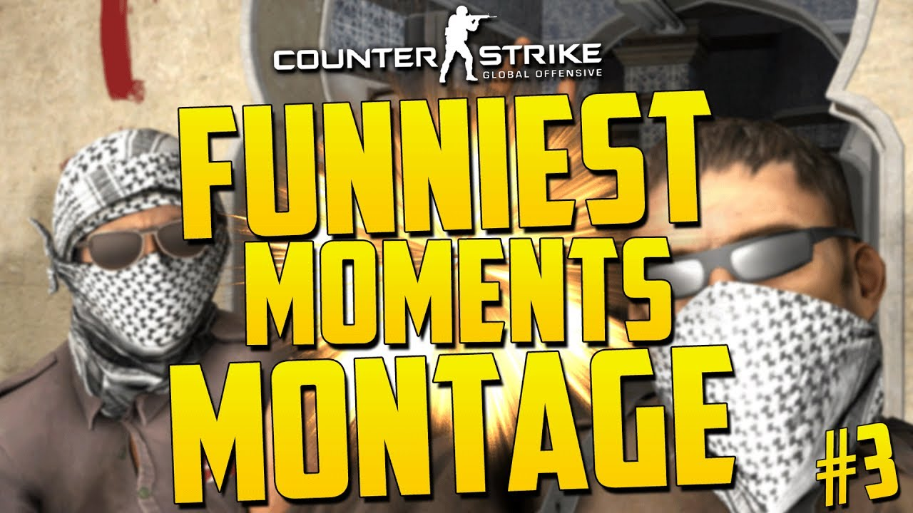 Download FUNNIEST CS:GO MOMENTS MONTAGE! - CS GO Funniest Moments Compilation #3