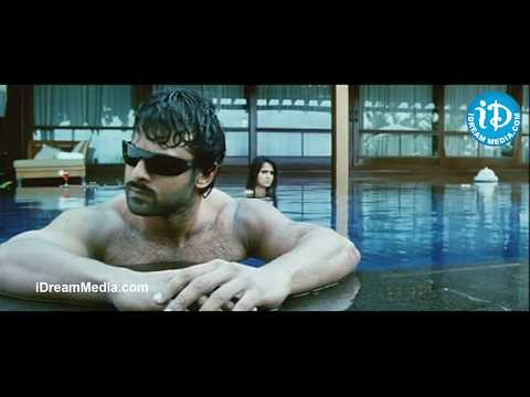 Prabhas, Anuskha, Namitha Swim Suite Scene - Billa Movie