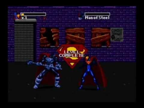 The Dead And Return Of Superman - Sega Genesis - Walkthrough and Full Gameplay