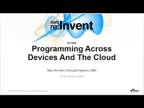 AWS re:Invent 2016: NEW LAUNCH! Lambda Everywhere (IOT309)