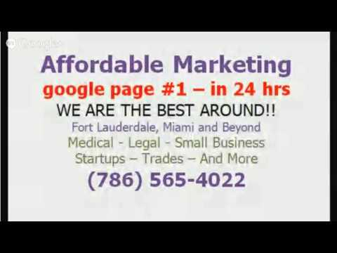 Seo Agency Fort Lauderdale - CALL 786-565-4022