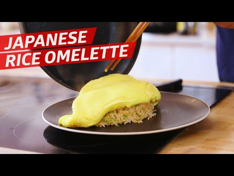 Cliff Attempts the Famous Japanese Omurice Omelette — You Can Do This!