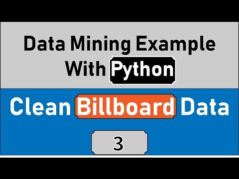 Cleaning Data In Python Using Pandas In Data Mining Example, Statistics With Python For Data Science