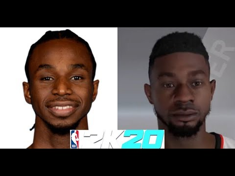 NBA 2K20 How To Create Andrew Wiggins Face