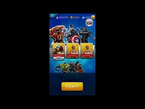 MPQ: New 4* Captain America Shield Training & Review, Legendary Token draws! Marvel Puzzle Quest
