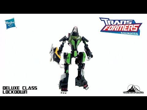 Optibotimus Looks Back S2 E1: Transformers Animated Deluxe Class LOCKDOWN