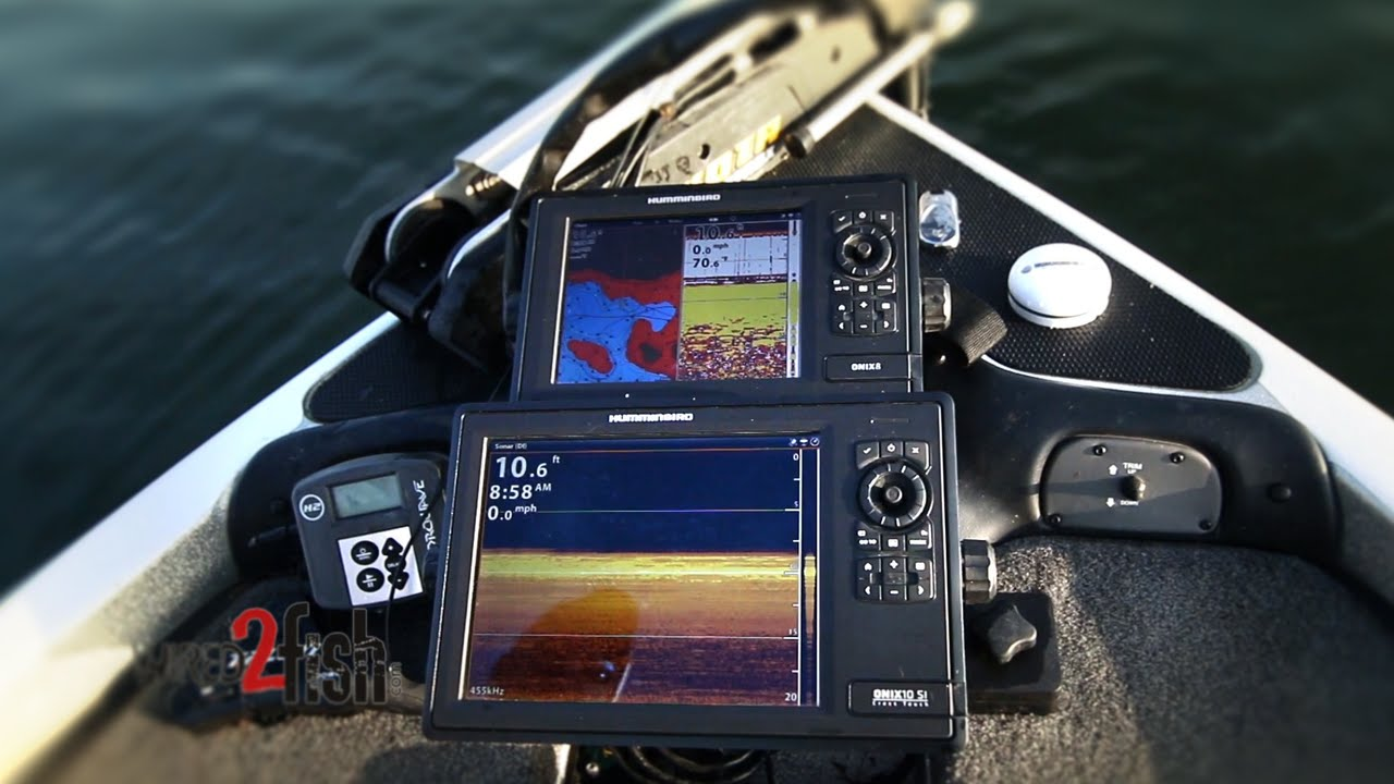 medium resolution of pontoon boat electronic