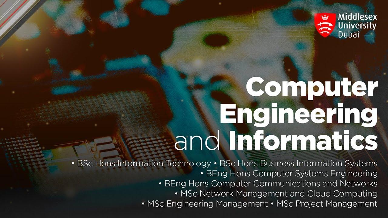 Computer Engineering and Informatics | Middlesex University Dubai