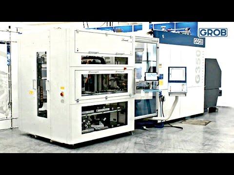 G350 Automation with pallet storage / Automatisierung mit Palettenspeicher