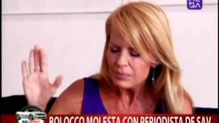 ¿Por qué Cecilia Bolocco está molesta con nuestro periodista?