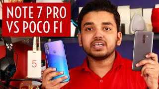 Xiaomi Redmi Note 7 Pro Vs Poco F1 Ultimate Showdown