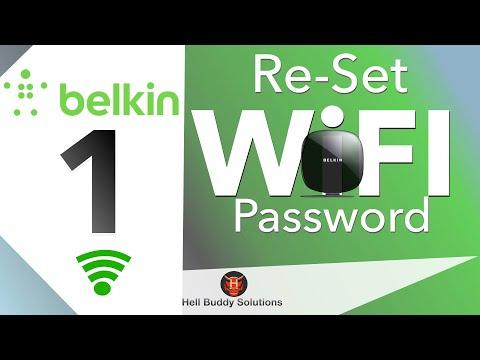 Belkin Wi-Fi Network & Password Re-Setting Part 1