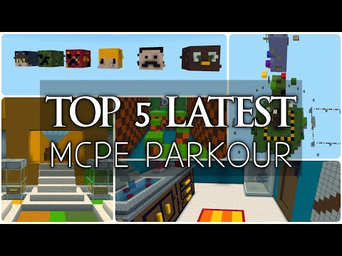 top-5-latest-parkour-maps-in-minecraft-pe-|-april-2020