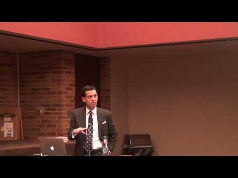 Alex Nowrasteh at Hillsdale College