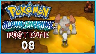 Pokemon Alpha Sapphire Post Game 8 Catching Regirock ORAS Gameplay Walkthrough Playthrough
