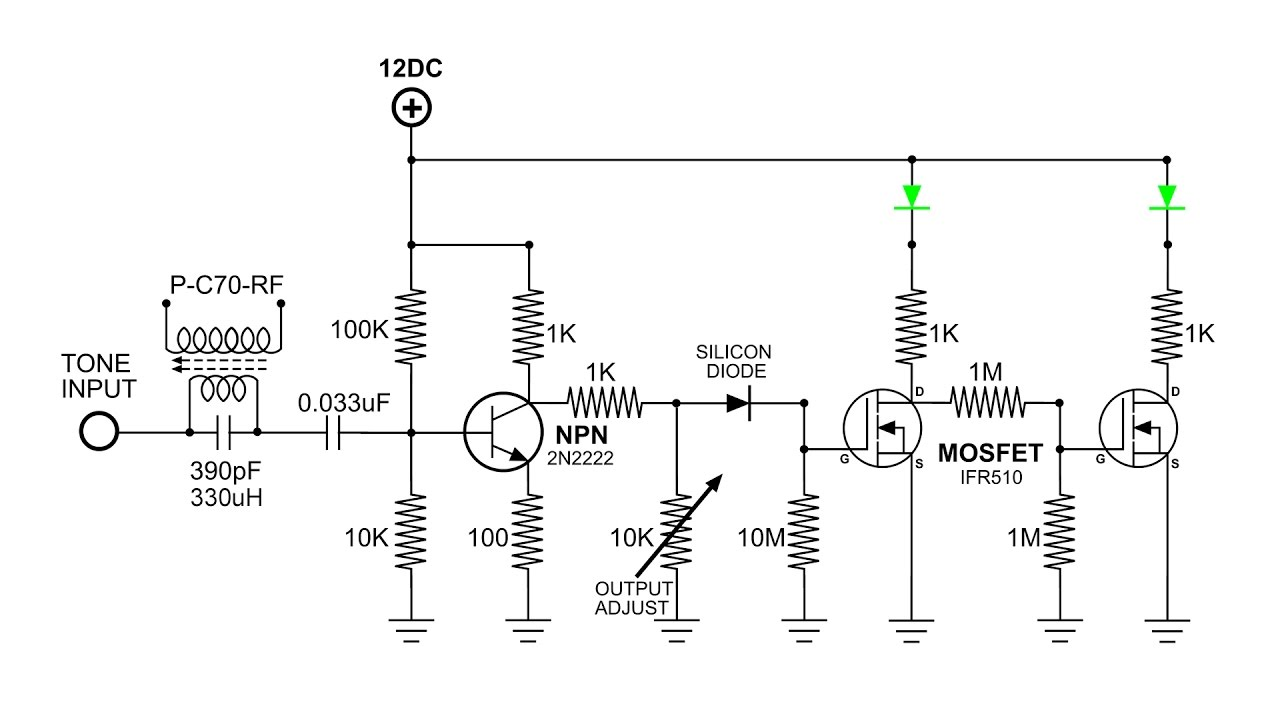 frequency dependent switch build and demo