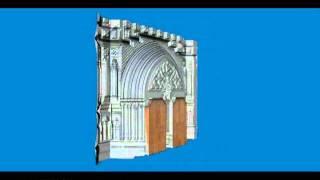 Puerta de la iglesia de San Juan Bautista (Arucas-Las Palmas de Gran Canarias).avi