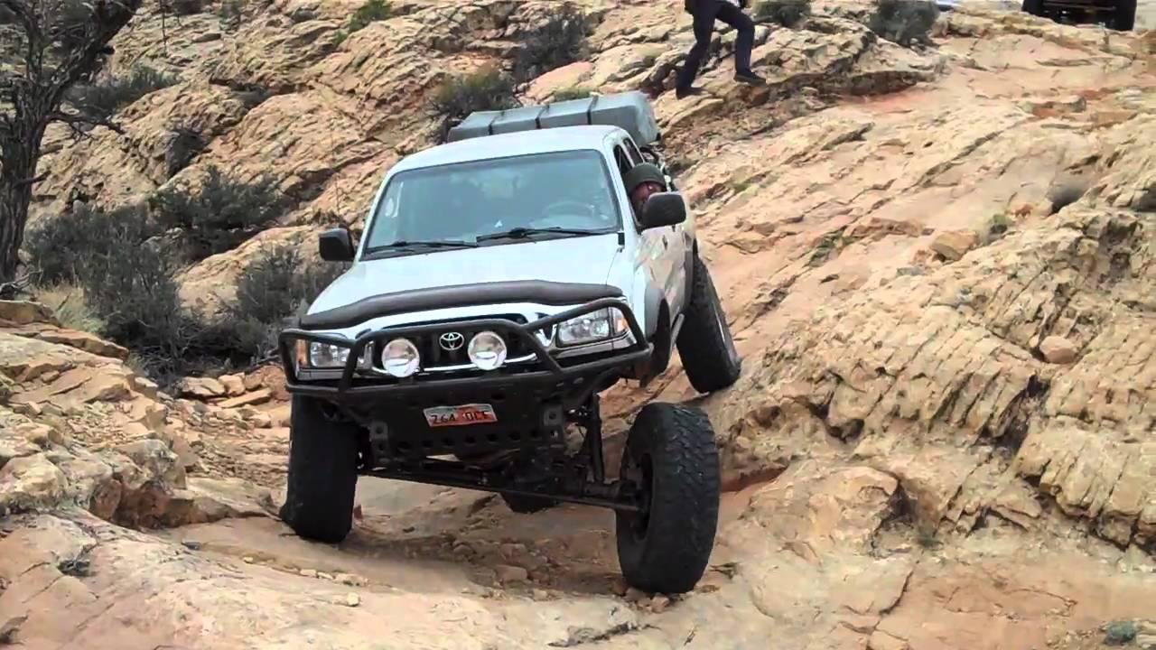 Flexing Out The Tacoma On Hotel Rock Trail Youtube