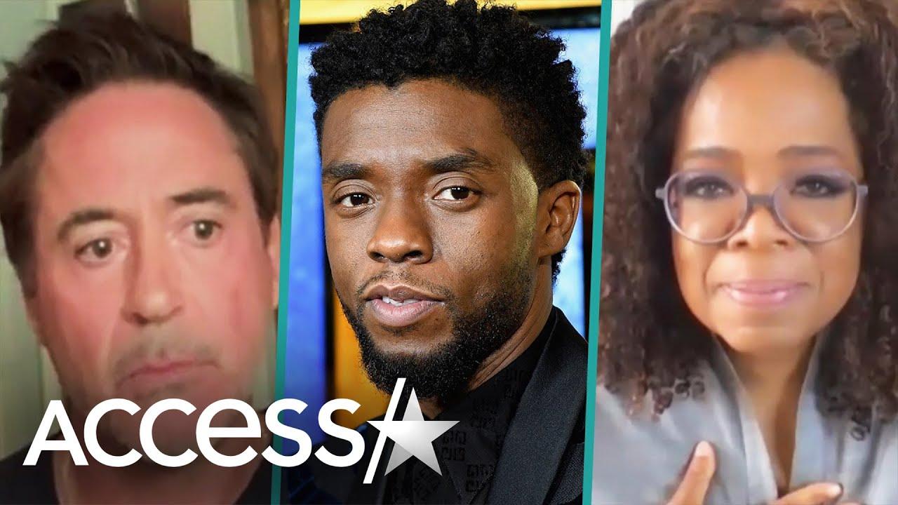 Chadwick Boseman Honored By Oprah, Robert Downey Jr. & More