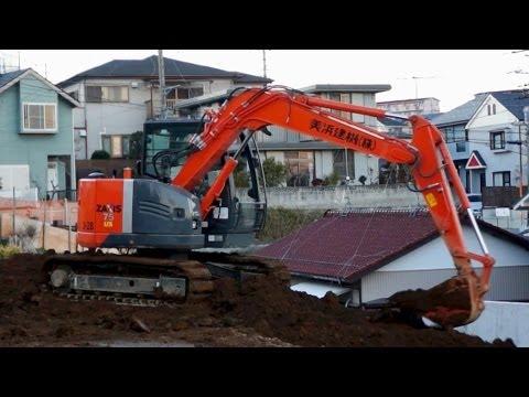 JAPAN HITACHI ZAXIS Excavator | Construction
