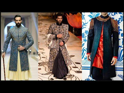 Men wedding dress design /Sherwani Design/Suit design/Kurta design/Indowestern dresses for men- FSHC