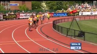 800м Мужчины - Бриллиантовая лига 2014 - Юджин
