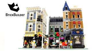 Lego Creator 10255 Assembly Square - Lego Speed Build