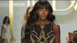 "Naomi Campbell for ""DIANE VON FURSTENBERG"" Spring Summer 2014 New York HD by Fashion Channel"