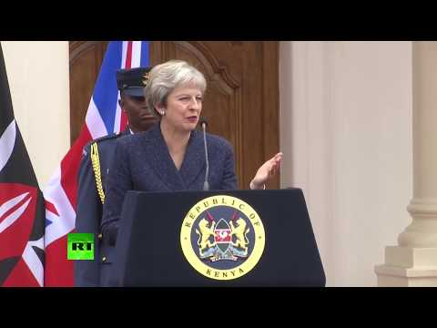 LIVE: Theresa May holds joint presser with Kenyan President Uhuru