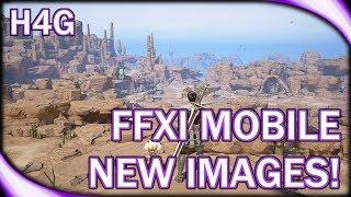 FFXI Mobile Update 2018 - New Screenshots!