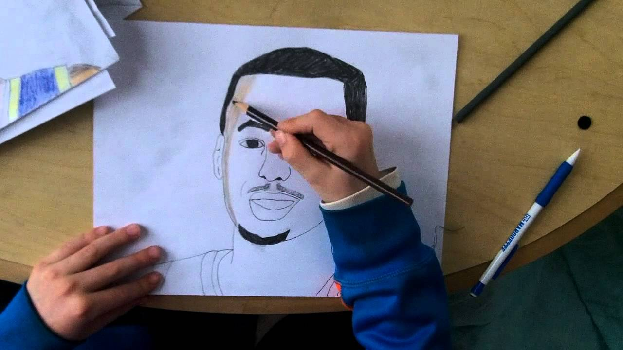 Drawing Stephen Curry Youtube