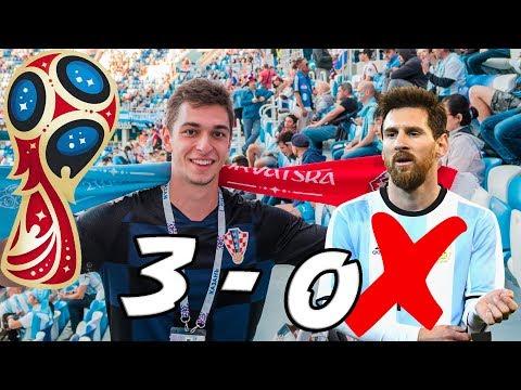 CROATIA VS ARGENTINA 3-0!!! - Russia World Cup Vlog #3 thumbnail