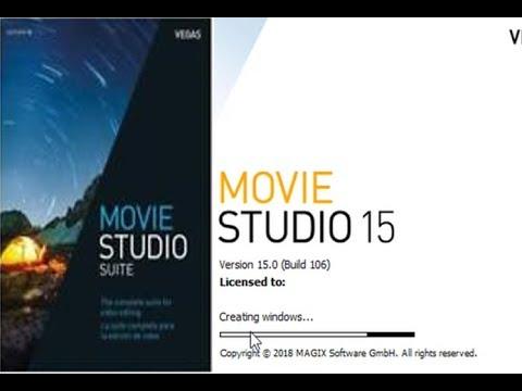 magix vegas movie studio platinum 15.0.0