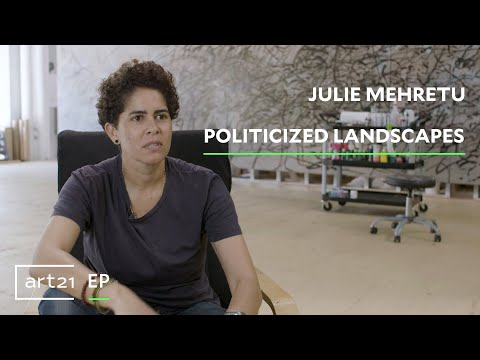 "Julie Mehretu: Politicized Landscapes | Art21 ""Extended Play"""