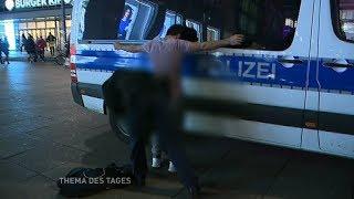 """""""Auf Streife"""" mit der Berliner Polizei über den Alex/Thema des Tages"""