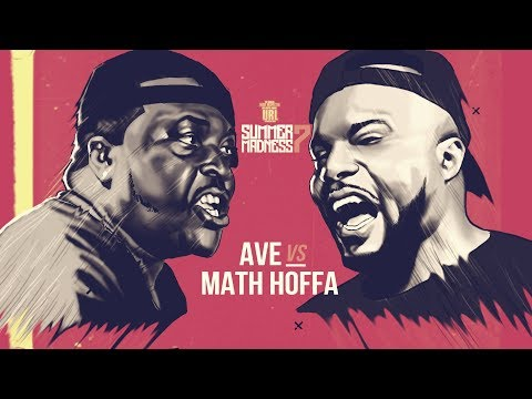 MATH HOFFA VS AVE SMACK RAP BATTLE   URLTV