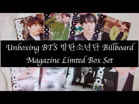 [UNBOXING] BTS Billboard Magazine Limited Edition Box Set | 방탄소년단 빌보드 매거진 후기!