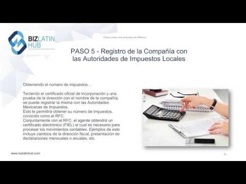 Cómo crear una empresa en México -Biz Latin Hub
