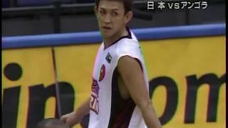 日本 VS アンゴラ 世界バスケ2006