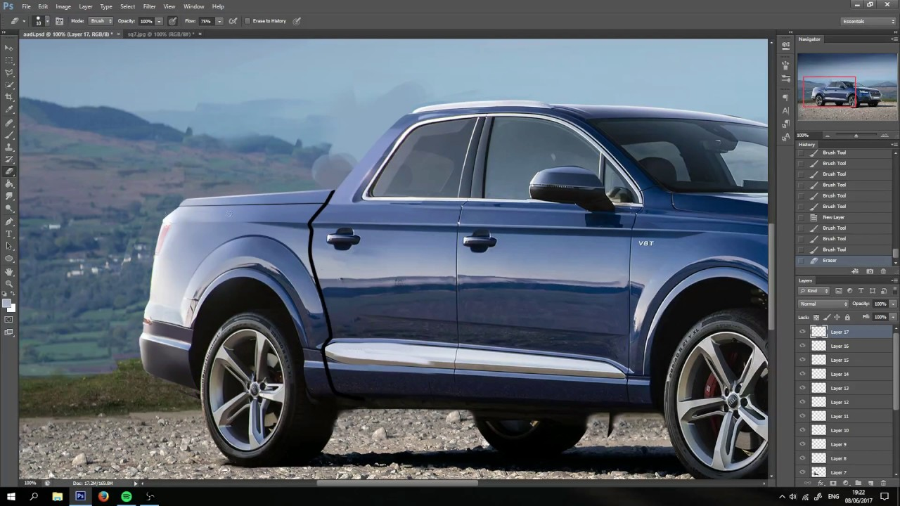 Audi Pickup Truck >> Audi Q7 Pickup Truck Youtube