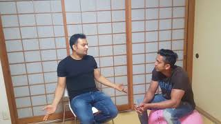 Life of a japanese language student in japan !! indian in japan !! study japan !!