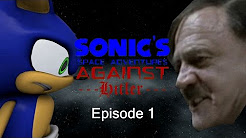 Image result for sonic's space adventure against hitler