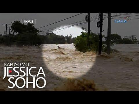 Kapuso Mo, Jessica Soho: Lalaki, natrap sa gitna ng rumaragasang baha sa Tarlac
