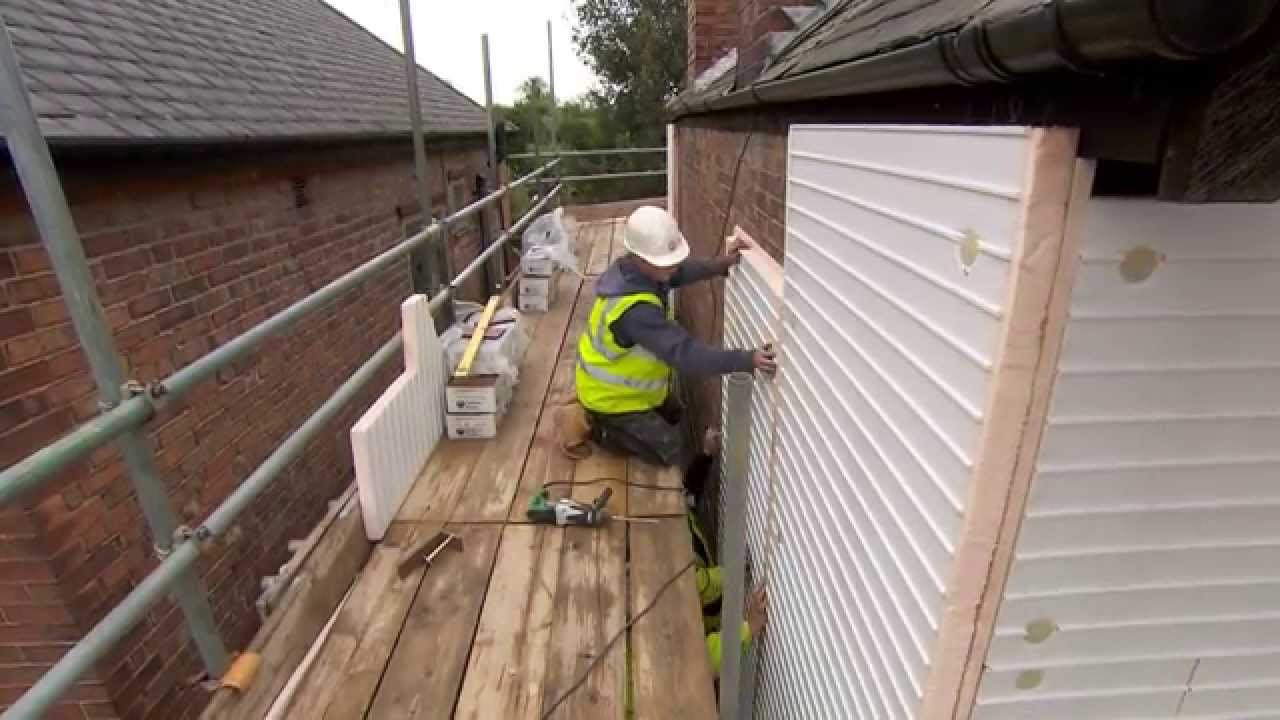 A Guide To Installing Eurobrick Brick Cladding Youtube
