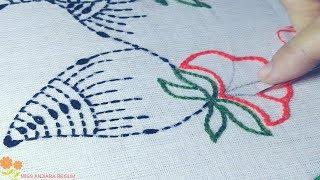 Latest Nakshi kantha stitches tutorial-96, নকশী কাঁথা সেলাই, কাঁথার ফোড়, আধুনিক কাঁথা টিউটোরিয়াল