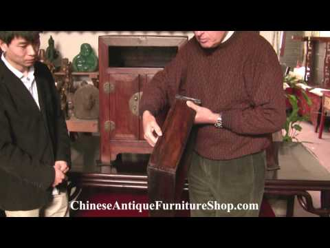 Chinese Antique Furniture Video #2 Drawers