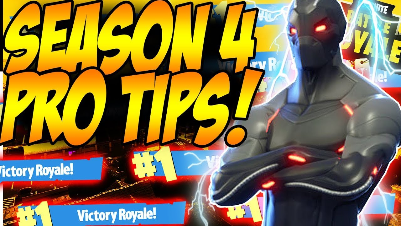 HOW TO BE A FORTNITE GOD TIPS! | Season 4 Tips How To Win More Fortnite Games!