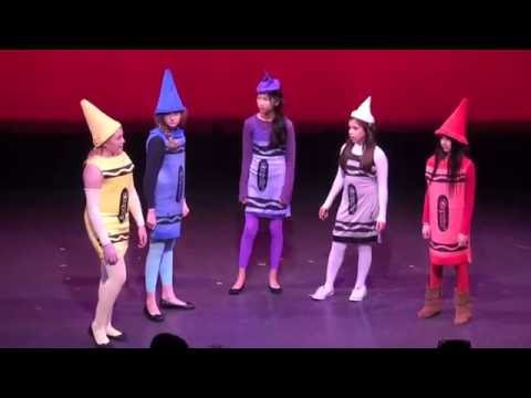 """One-Act Plays 2012:  """"Crayon Rally"""""""