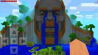 The Original Temple of Notch in Minecraft Pocket Edition